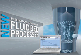 moisture monitoring fluidbed dryer process