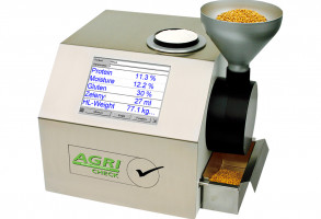 Accurate and rapid NIR measurement of grains, milled products and pastes